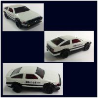 HW Custom- Initial D 1st Stage AE86 by CSX5344