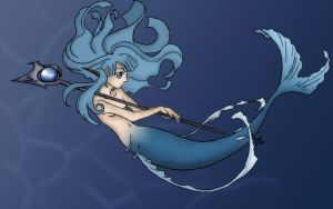Blue Mermaid by Ses-chan