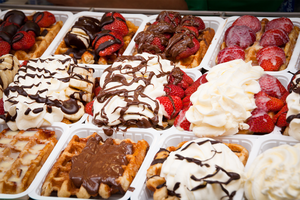 Belgian waffles by Anthoblack