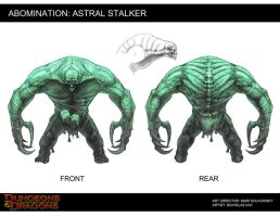 Astral Stalker by NicholasKay