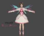 Fairy Sherry mod for XNALara by deexie