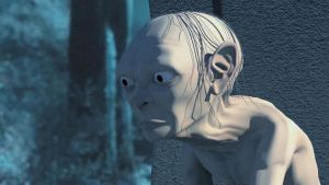 Gollum Low budget animation- TLOTR The Two Towers by RakSkuder