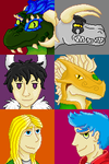 Holiday Gift Icons by thrallath