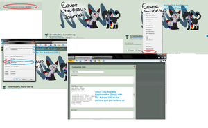 Tutorial for Journals by pokemonshadow