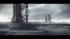 Saturn V Rockets by MacRebisz