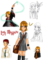 Hogwarts: Leah Maggoire by zoro4me3