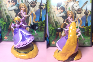 Rapunzel Peach Amiibo by BroadwayBacon