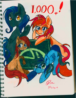Congrat to The CAC For 1,000 Watchers by TheLittleDixie