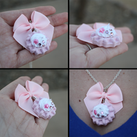 .: Waffle Necklace :. by moofestgirl