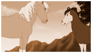 In the Desert 'Comic Spoiler' by Wild-Hearts