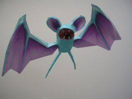 Zubat papercraft by Tiffyx