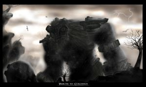 Tribute to Colossus by BlueRogueVyse