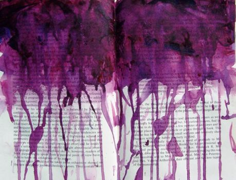 Dripping Purple by donna-moss