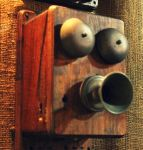 An old telephone by Maleiva