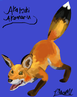 Red fox by ConkerTSquirrel