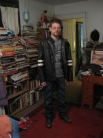 Black Jacket and Books by Duamuteffe