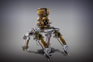 Concept Robot by ldimonl