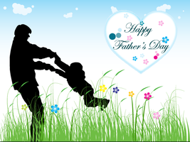 Happy Fathers Day Vector by 123freevectors