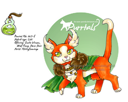 Purrtal 005-S Loki [Mascot] by nickyflamingo