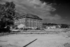 Old factory building at Phoenix See by Krash-Team