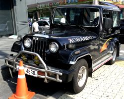 The Korean Classic Off Roader by toyonda