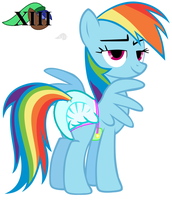 Rainbow's Padded Look by MLPCutePic