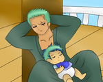 [OP] Son like father by Ariane-Wesker