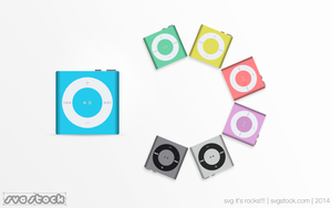 Ipod-shuffle-by-svgstock by SVGStock