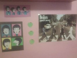 My Wall of the Beatles by AppleLittleDoll
