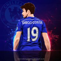 Diego Costa by kalongart