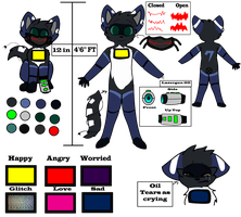 Escape New Ref (Reuploaded and Updated!) by Creation-0