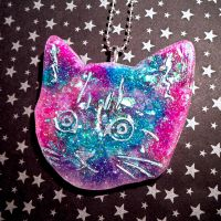 Cosmic cotton kitty by Lutrasaura