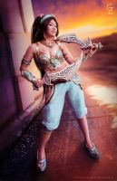 Battle Princess Jasmine Cosplay by keikei11