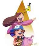 Gravity Falls Print by Space-Jacket