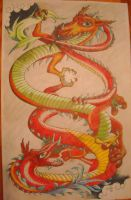 fighting Chinese dragons by Coffin-maker