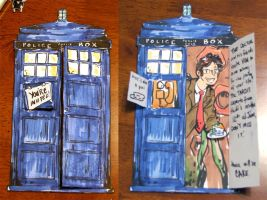 tardis card by taintedsilence