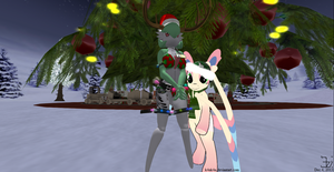 Nowan and Starry _ December 2013 by K4nK4n