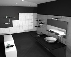 Modern stylish bathroom by Reapsert