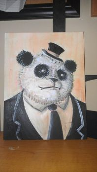 Panda Painting 2 by chip14