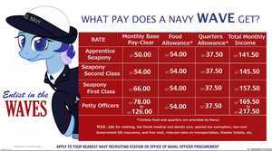 1940 USN WAVES Recruitment Poster by FirstAwesomePlatoon