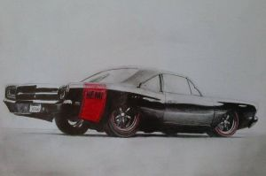 Dodge Charger by Maciek97x