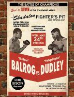 Dudley vs. Balrog poster by bowbood