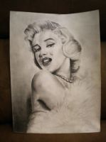 Marilyn Monroe by NoxMartyr