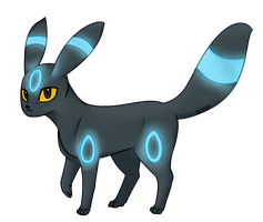 Umbreon Is Shiny by brittoniawhite