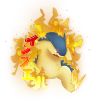Typhlosion - Inferno by Kunaless