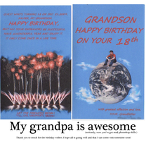 To My Grandson by Axeraider70