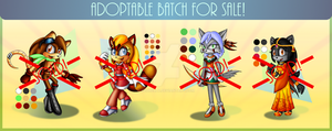 Adoptable batch CLOSED! by Azurelly
