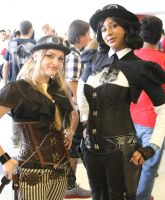 Florida Supercon 2013: Steampunk Girls by MakeupSiren