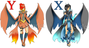 Mega Charizard Adopts Action (open) by xXScarletStarletXx