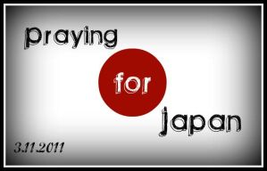 Praying For Japan by Menchieee